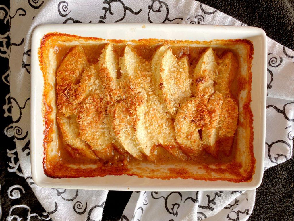appelschijfjes ovenschotel