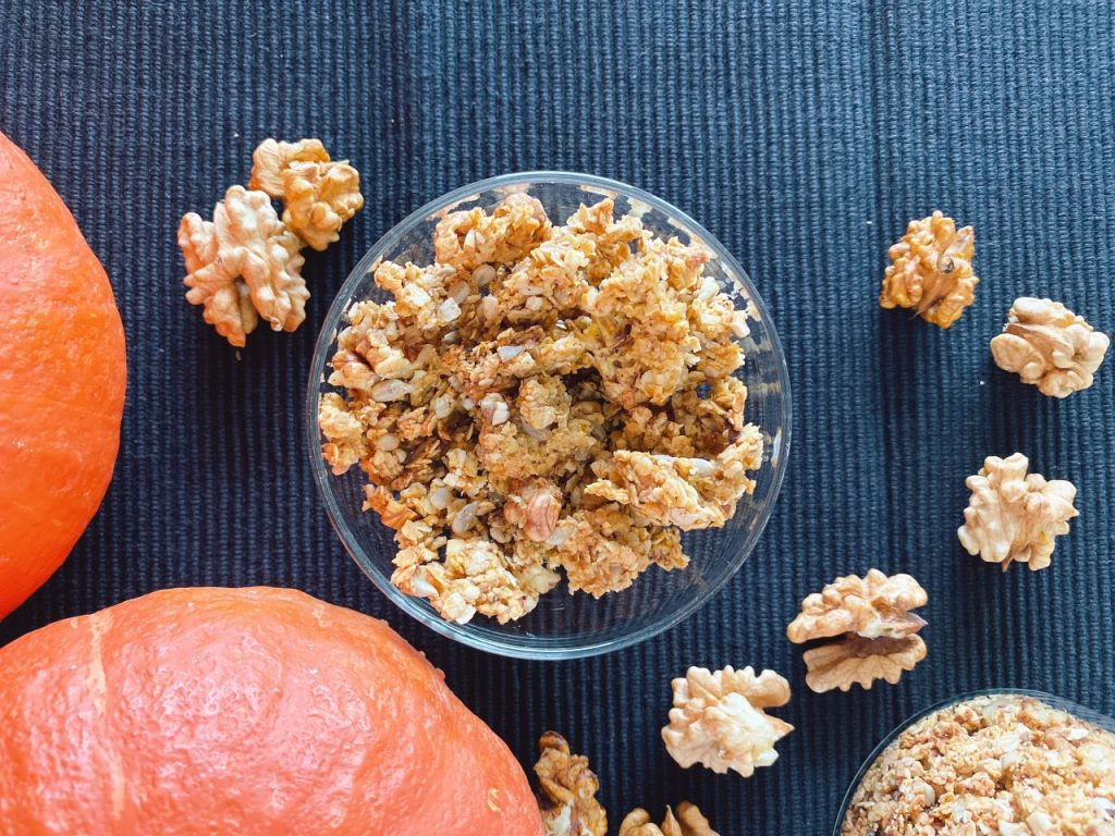 pompoen granola
