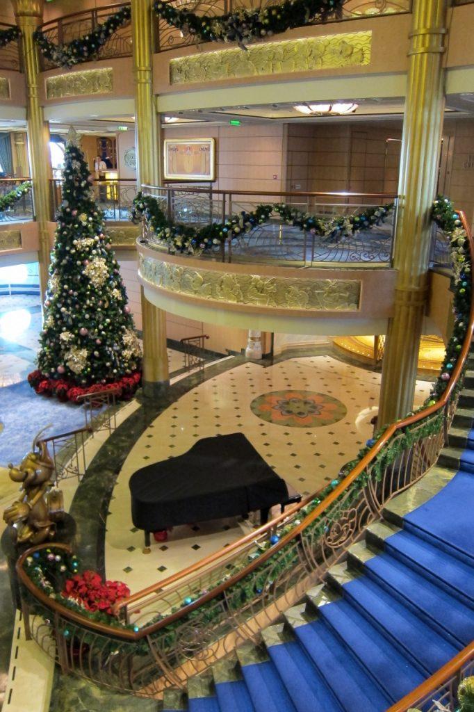 Disney Cruise Line Atrium