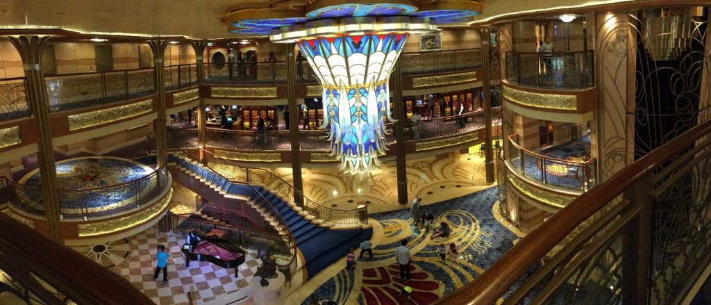 Disney Cruise Line Dream Atrium