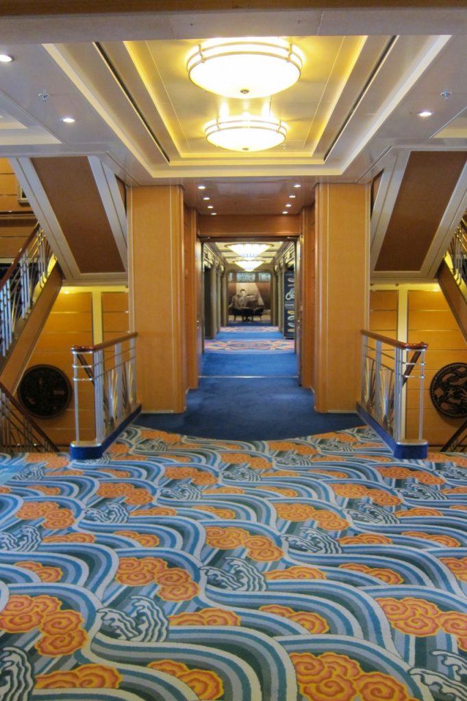 Disney Cruise Line Magic hallway