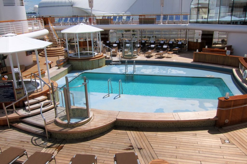 Disney Cruise Line adult pool