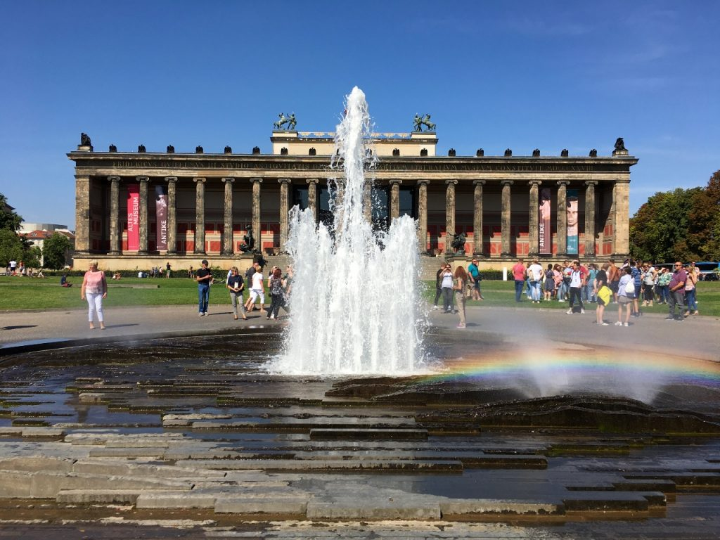 Vegan in Berlijn fontein
