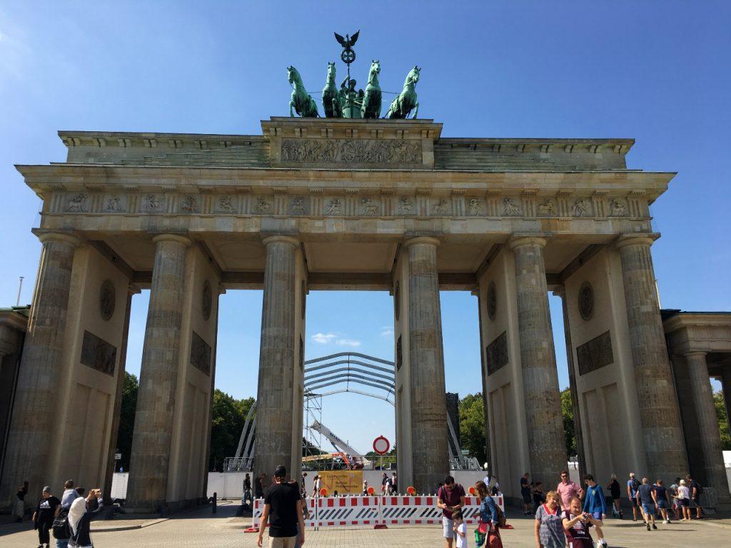Vegan in Berlijn Brandenburgertor