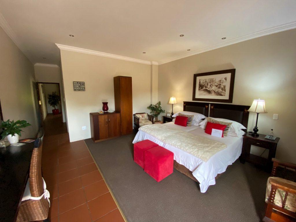 mooiplaats country guesthouse kamer