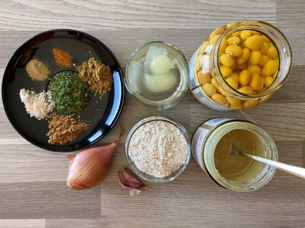 falafel van lupinebonen ingrediënten