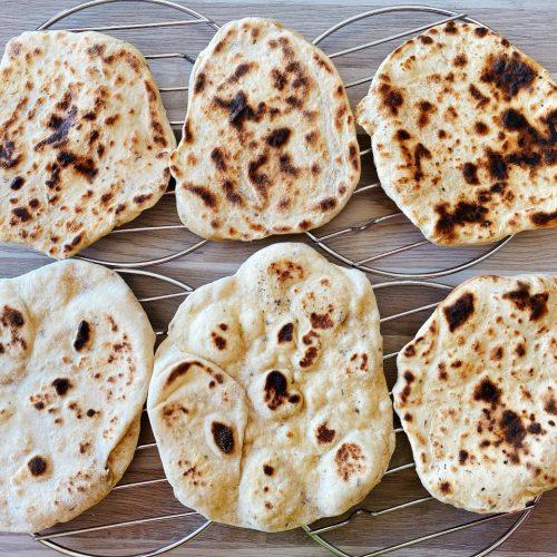 recept vegan naanbrood eenvoudig