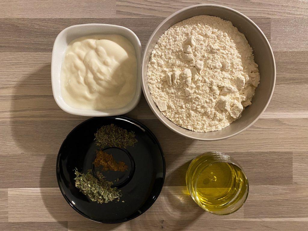 recept voor vegan naanbrood ingrediënten