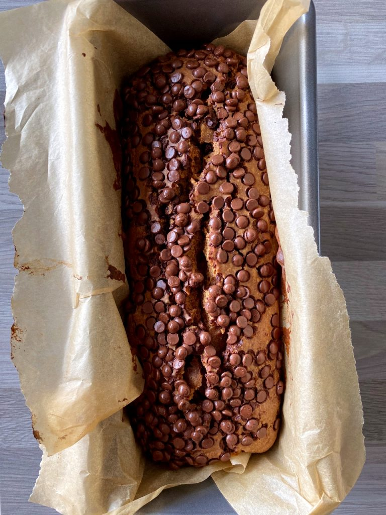 cake met chocolade na