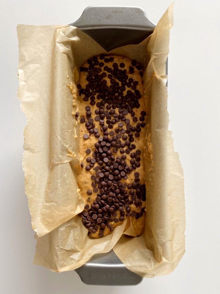 cake met chocolade voor