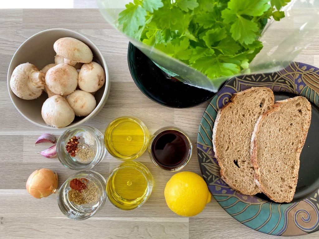 toast champignon ingrediënten