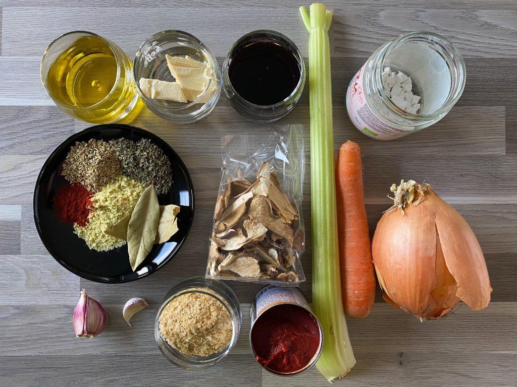 vegan jus ingrediënten