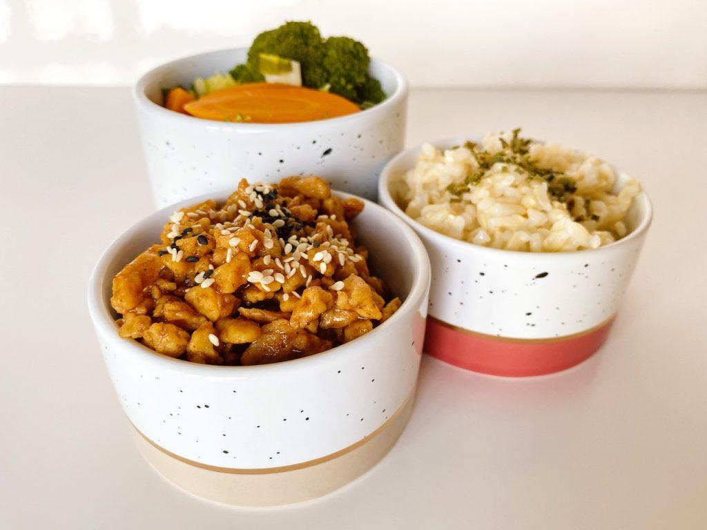 vegan recept voor teriyaki sojabrokjes