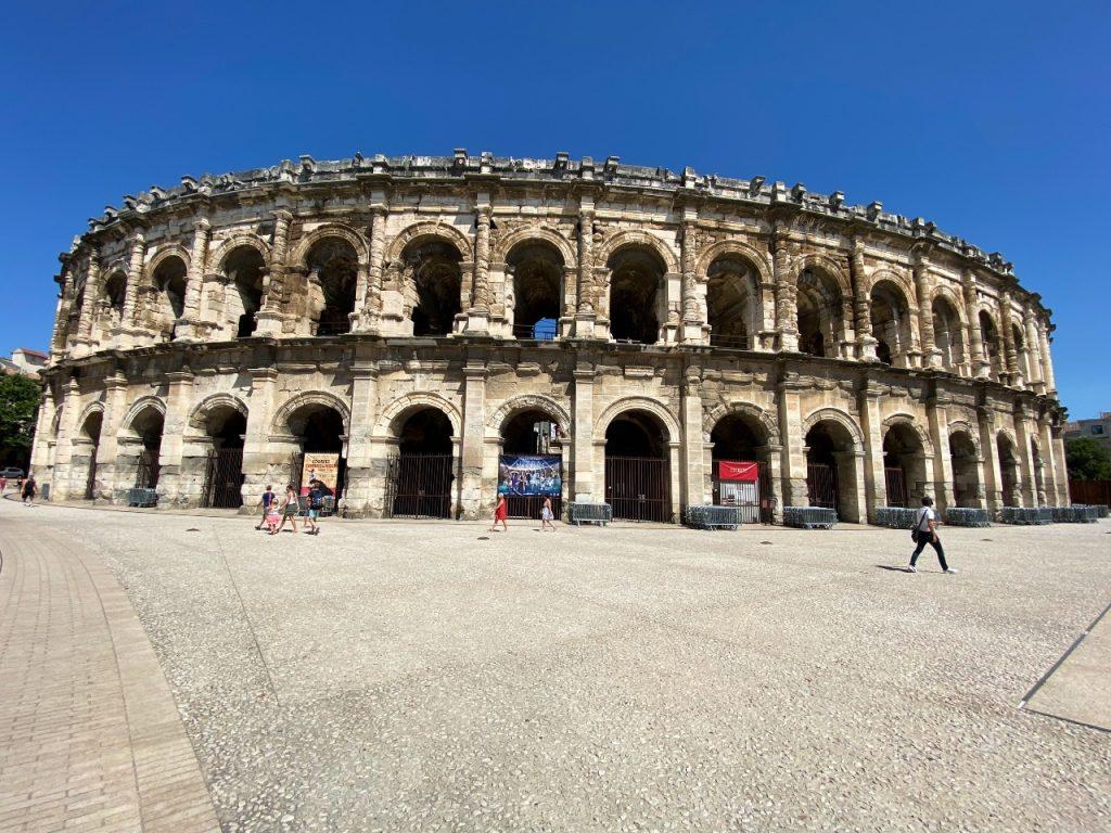 Camargue bezoeken tips Nîmes Arenas