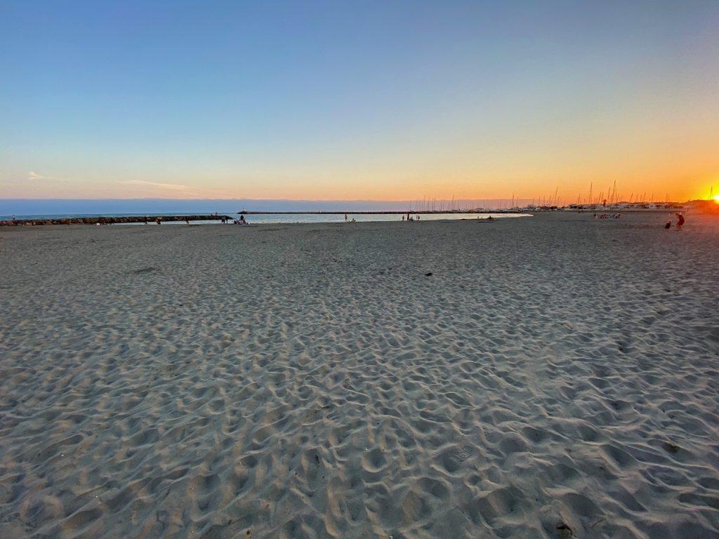 Saintes-Maries-de-la-Mer strand
