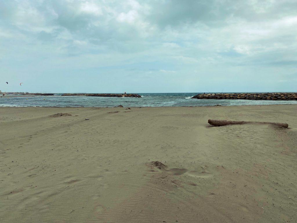 camping Le Clos du Rhône strand