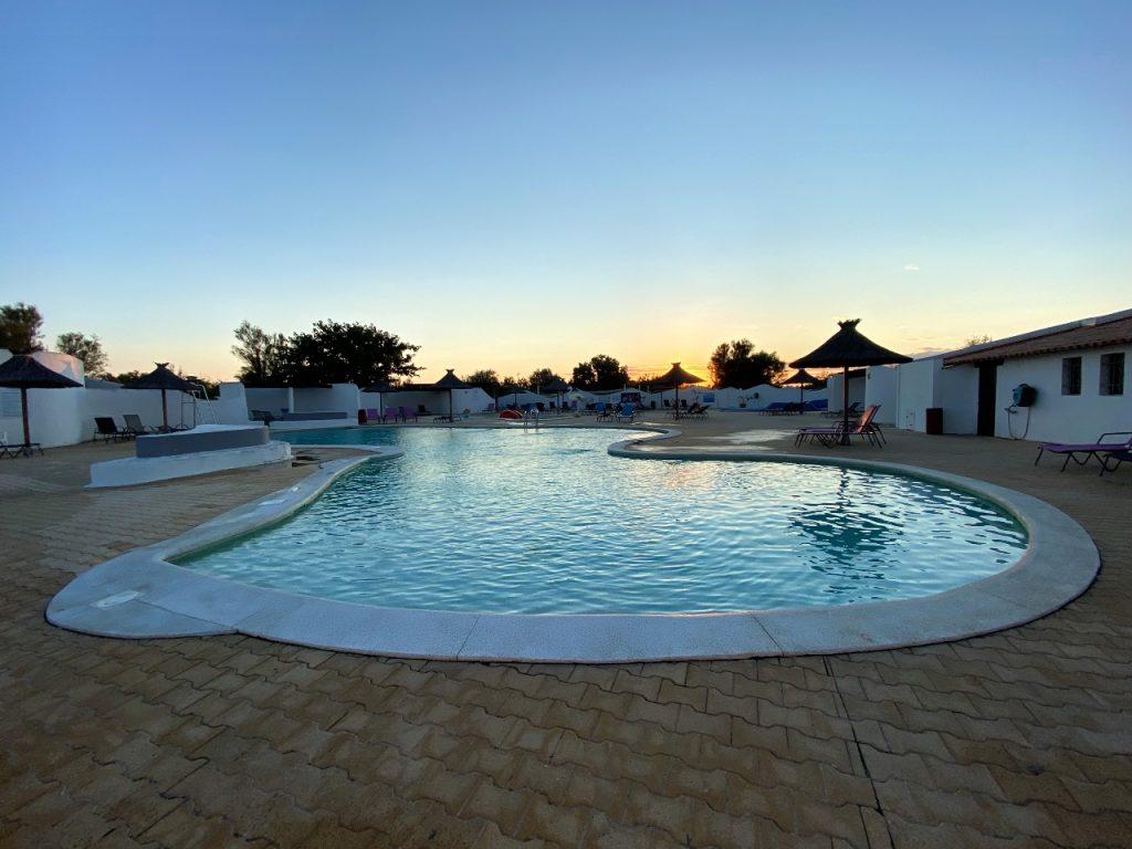 camping Le Clos du Rhône zwembad