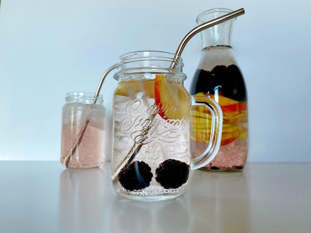 gezond water met een smaakje zelf maken