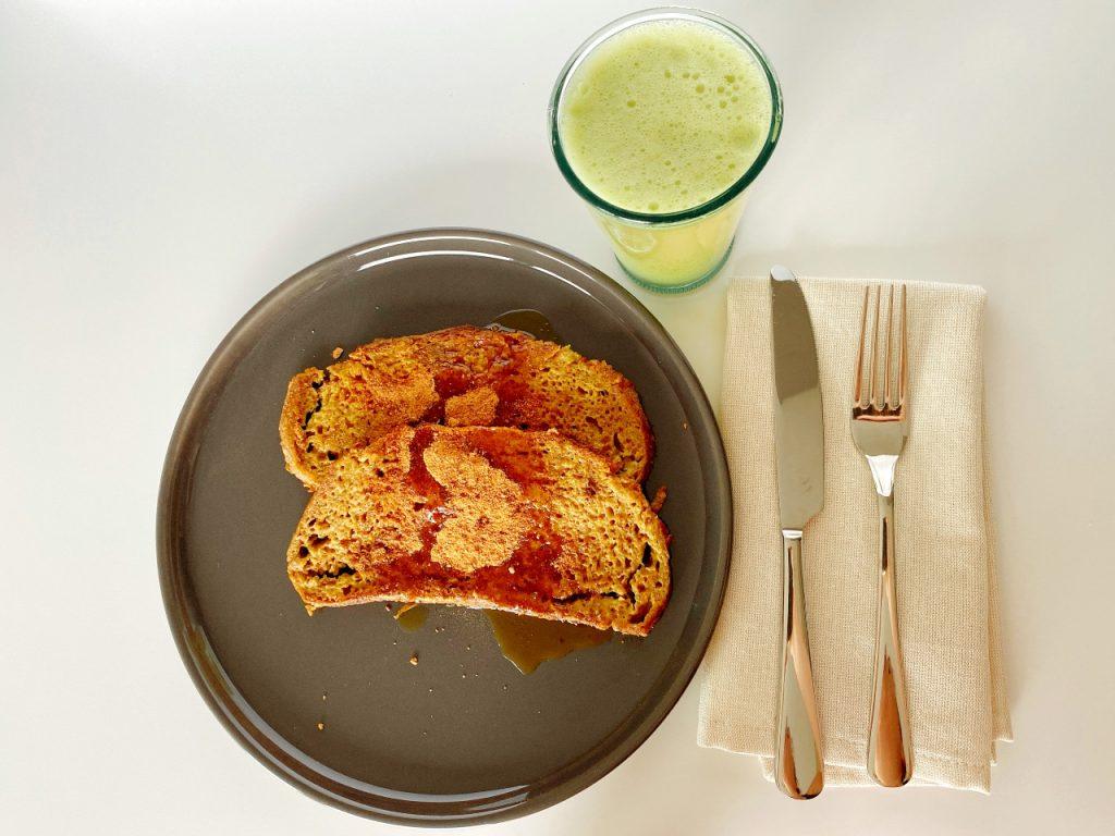 gezonde vegan wentelteefjes verloren brood