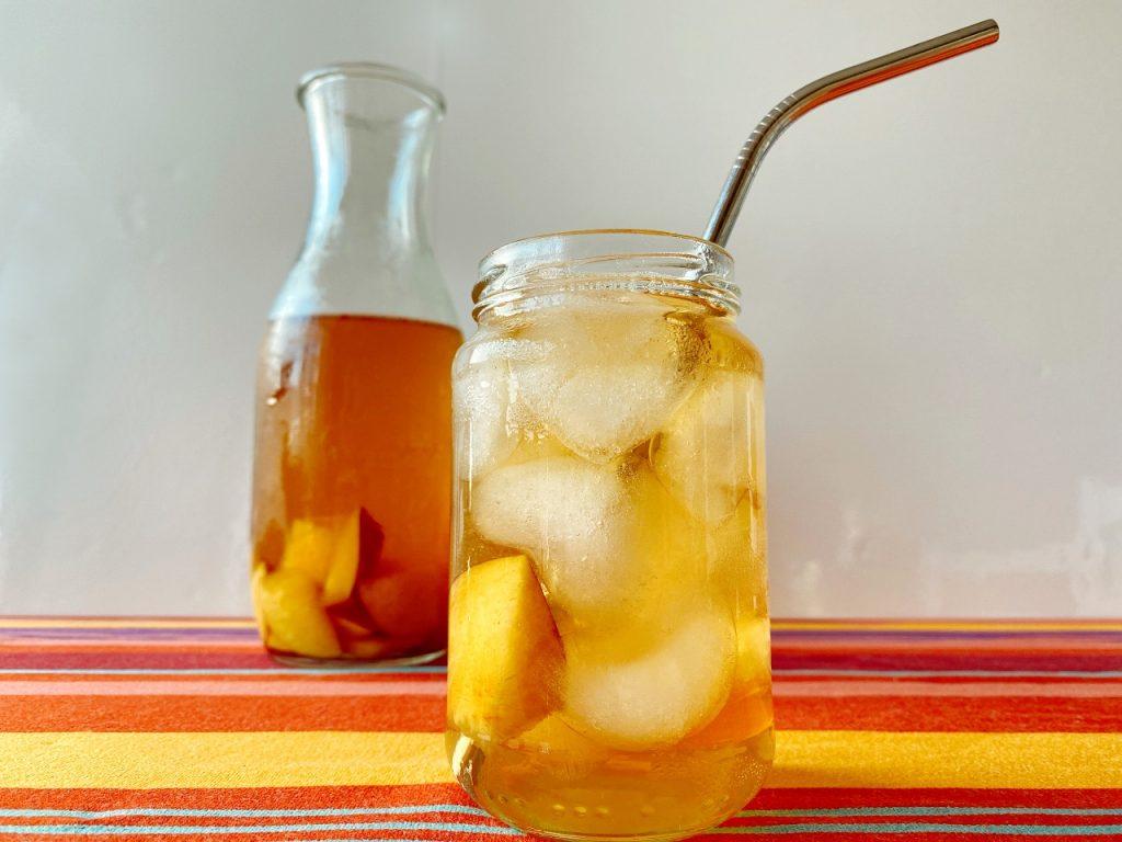 homemade idea tea peach