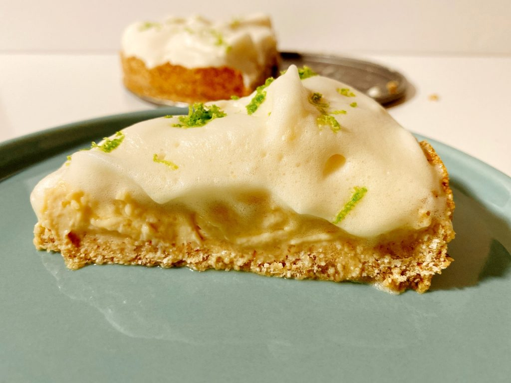 vegan key lime pie recept taart